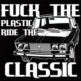 Fuck the plastic női póló