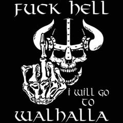 Fuck Hell férfi póló