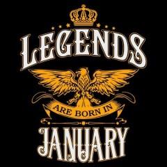 Legend are born január
