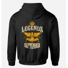 Legends are born szeptember