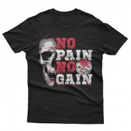 No Pain No Gain Skull