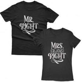 Mr & Mrs Right Páros Póló