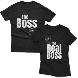Boss Real Boss Páros Póló