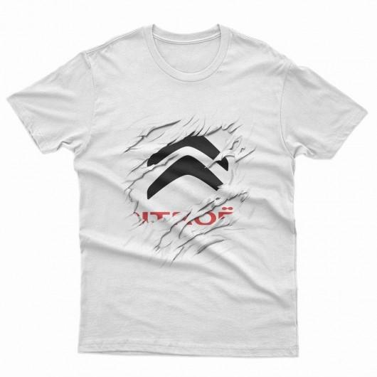 Citroen  Car Logo férfi póló 56985a9194