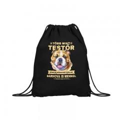 Több mint testőr angol bulldog (gymbag)