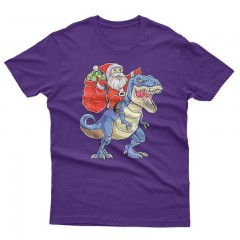 T rex Santa