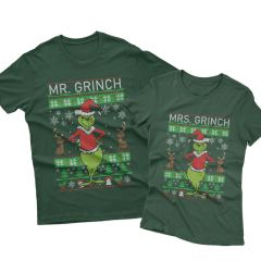 Ugly Mr Mrs Grinch