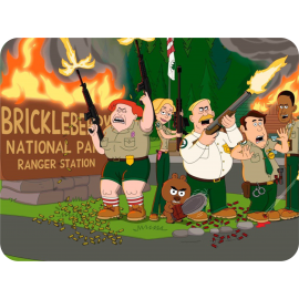 Egérpad - Brickleberry