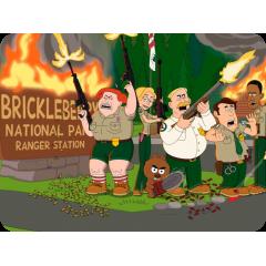 Egérpad - Brickleberry