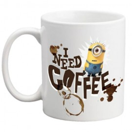 I need coffe Minion Bögre