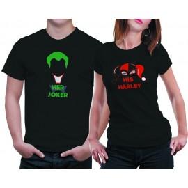 Joker & Harley Páros póló