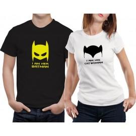 Batman-Catwoman páros póló