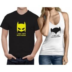 Batman-Catwoman páros póló+trikó