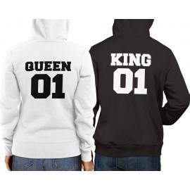 Páros King01Queen01 pulcsi