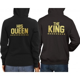 The King His Queen Gold Pulcsi