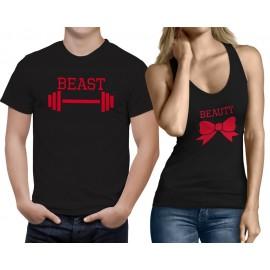 Páros Beast and Beauty Póló+trikó