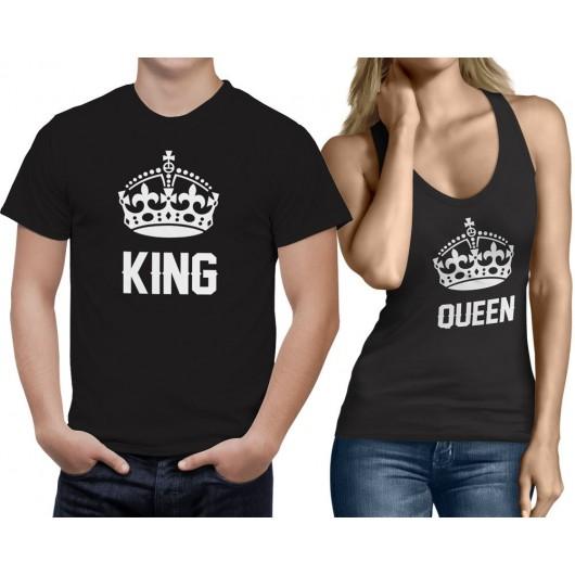 Páros King Queen Póló+trikó