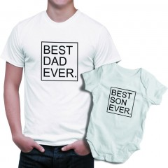 Baest Dad-Son ever