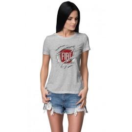 Fiat_Car logo női póló