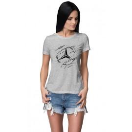 Mercedes_Car logo női póló