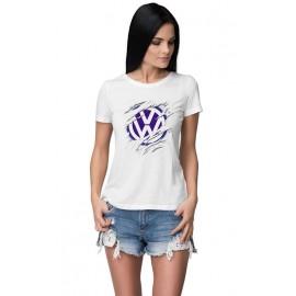 VW_Car logo női póló