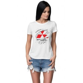 Mitsubishi_Car logo női póló