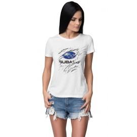 Subaru_Car logo női póló