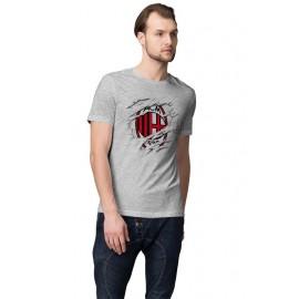 AC Milan_ Foci Logo férfi póló