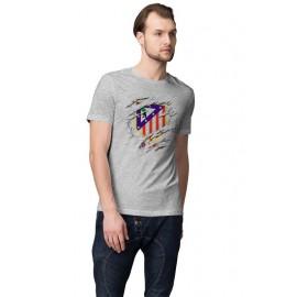 Atletico Madrid Foci Logo férfi póló