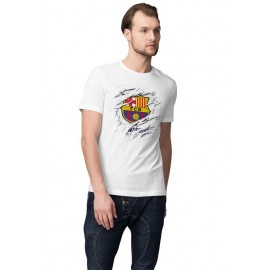 FC Barcelona Foci Logo férfi póló
