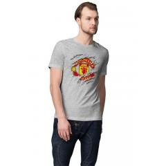 Manchester United Foci Logo férfi póló