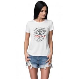 Toyota_Car logo női póló