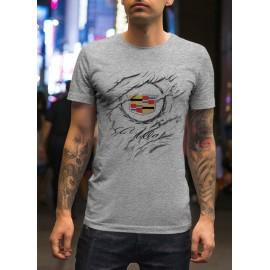 Cadillac_Car logo férfi póló