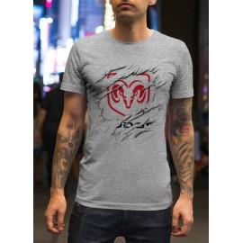Dodge_Car logo férfi póló