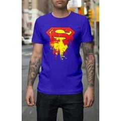 Superman Splatter férfi póló
