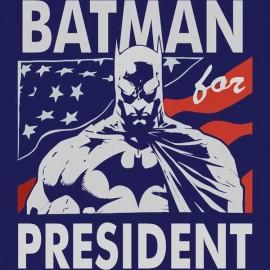 Batman for president férfi póló