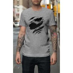 New Batman Tépett mintával Férfi póló