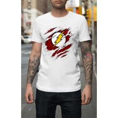 Flash Tépett mintával Férfi póló