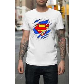 Superman Tépett mintával Férfi póló