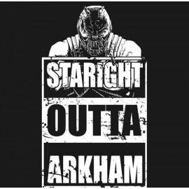 Straight Outta Bane férfi póló