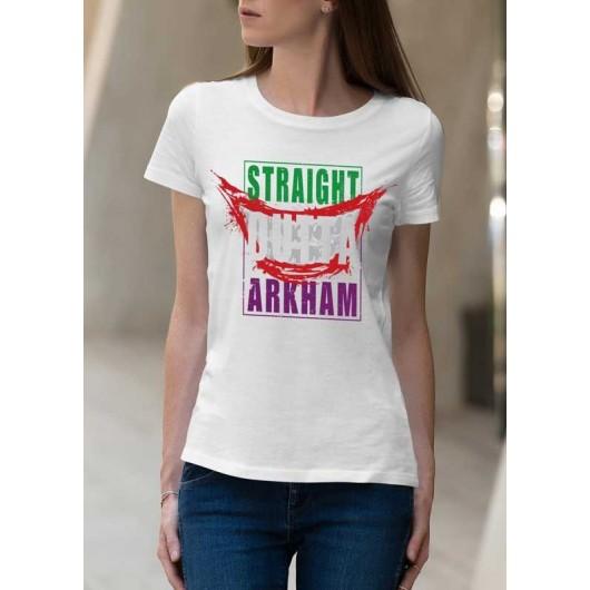 Sraight Outta Arkham  Női Póló