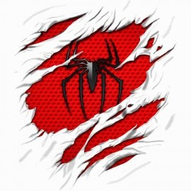 Spiderman Tépett  Női Póló