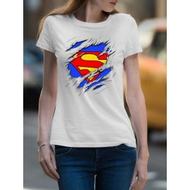 Superman Tépett  Női Póló
