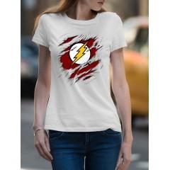 Flash Tépett Női póló