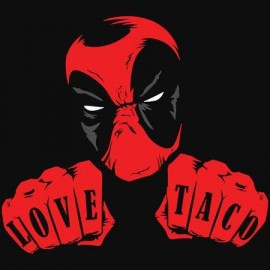 Love Taco Deadpool Női póló