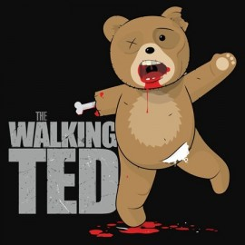 The walking Ted Női Póló