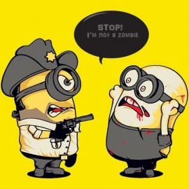 I'm not zombie minion Női póló