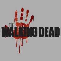 The Walking Dead Véres Tenyér férfi póló