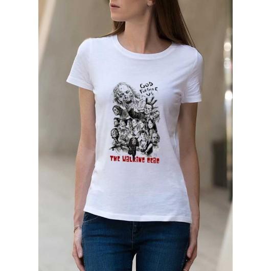God Forgive Us női póló