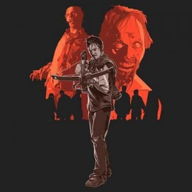 The Walking Dead Daryl_Zombie Férfi Póló
